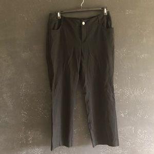 INC Stretch Suit Black Pants Size 14W